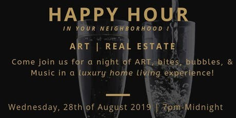 Evening of ART & Networking | Bites, Bubbles, & Music! tickets