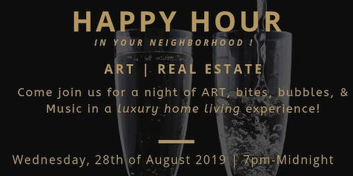 Evening of ART & Networking | Bites, Bubbles, & Music!