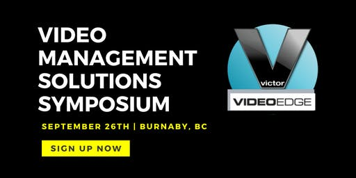 victor & VideoEdge | Video Management Solutions Symposium
