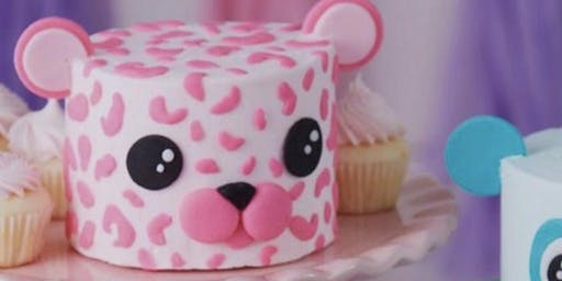 Kids Only Cheetah Cake Decorating Class
