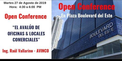 CONFERENCIA: EL AVALUÓ DE OFICINAS Y LOCALES COMERCIALES