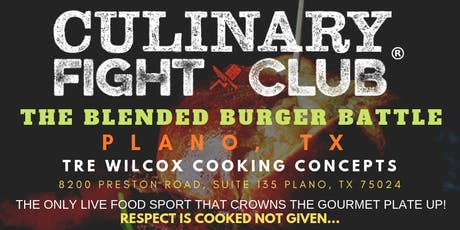 Culinary Fight Club: The Blended Burger Battle - TEXAS tickets