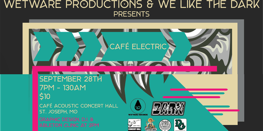 Café Electric featuring LoTemp, P H N M N N, Andi Capp, and BHO Dojo