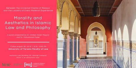 Morality & Aesthetics in Islamic Law and Philosophy tickets