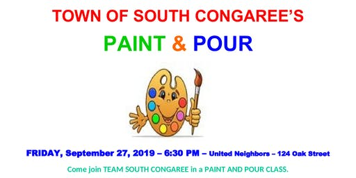 South Congaree Paint & Pour