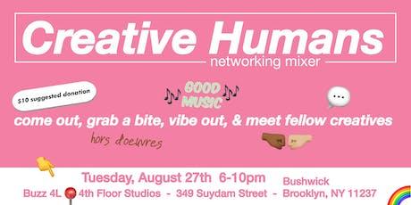 Creative Humans Networking Mixer tickets