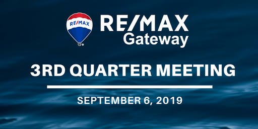 RE/MAX Gateway's 3rd Quarter 2019 Meeting