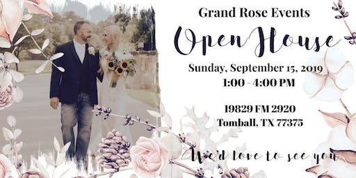 Grand Rose Events Fall Open House