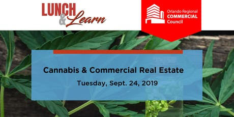 Commercial Council Lunch & Learn - Cannabis & Commercial Real Estate tickets