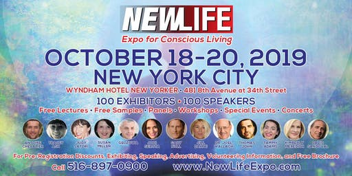 NEWLIFE Expo | Holistic Health, New Age, Conscious Expo OCT 18-20,2019