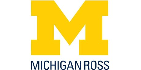 Michigan Ross Part Time MBA App Chat Detroit 10-16-19 tickets