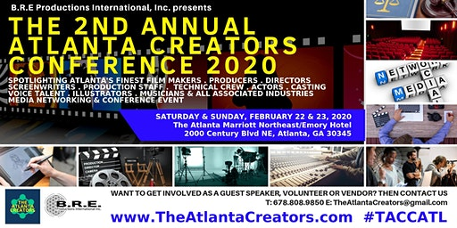The 2nd Annual Atlanta Creators Conference 2020