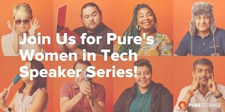 Women in Tech Speaker Series tickets