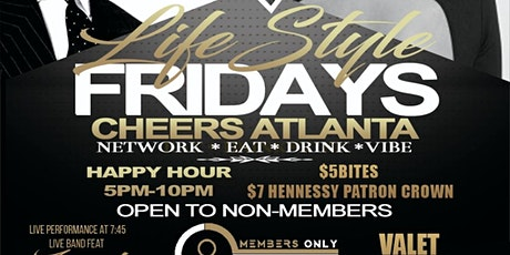 Lifestyle Fridays MembersOnly tickets