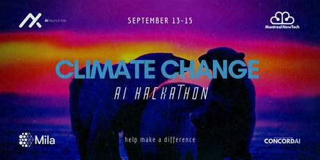 Climate Change AI Hackathon tickets