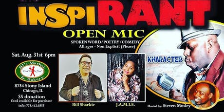 The InspiRANT - Open Mic tickets
