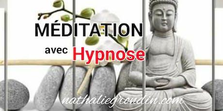 Session de Méditation avec HYPNOSE (dépôt de 40$), voir détails billets