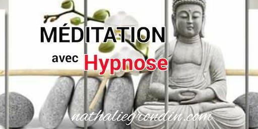 Session de Méditation avec HYPNOSE (dépôt de 40$), voir détails