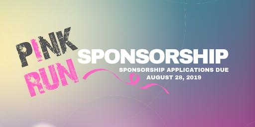 Pink Run 2019 Sponsorship