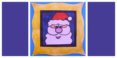 FALL 2019 Parent & Child Create Night- How to Draw & Paint Santa (5-12 Years)