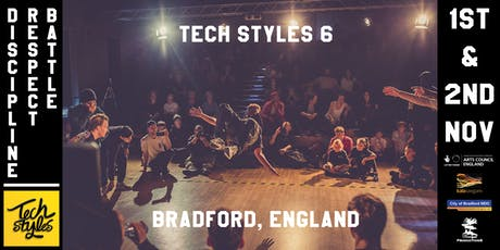 Tech Styles 6 - International Breakin Event tickets