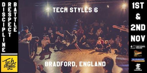 Tech Styles 6 - International Breakin Event
