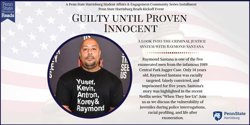 Raymond Santana-Guilty Until Proven Innocent