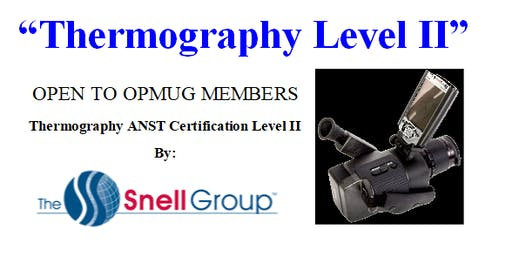 Infrared Thermography Level II