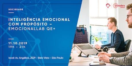 Inteligência Emocional com propósito – EmocionalLAB QE+ ingressos