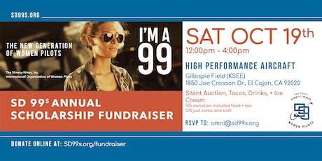 San Diego 99s - 2019 Scholarship Fundraiser tickets