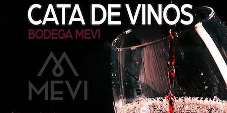 Cata de vinos Bodega MEVI entradas