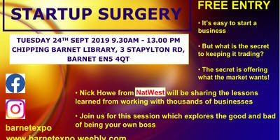 Natwest Bank Startup Surgery in Barnet