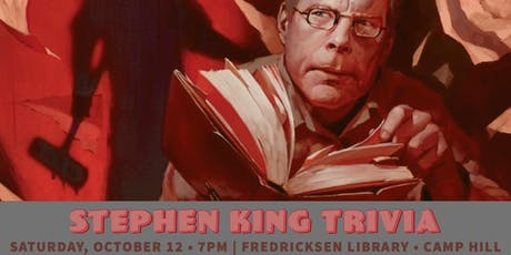 Trivia After Hours: Stephen King Challenge! (B.Y.O.B.) tickets