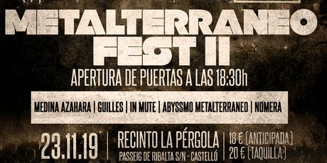 METALTERRANEO FEST II entradas