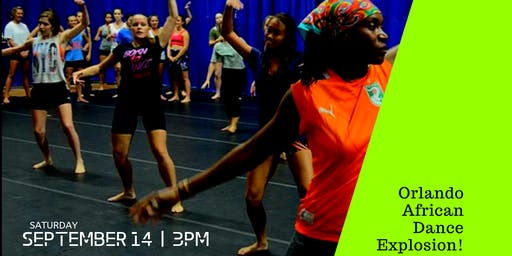 Orlando African Dance Explosion Class 15