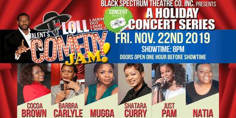 Talent's LOLL (Laugh Out Loud Ladies) Comedy Jam! tickets