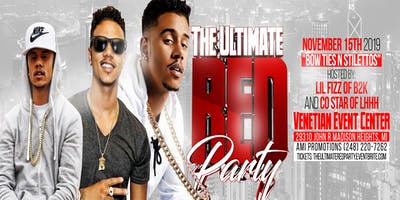 """THE ULTIMATE RED PARTY"" HOSTED BY: LIL FIZZ OF #LHHH"