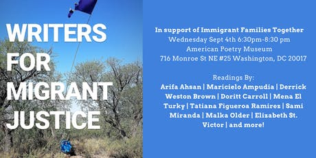 Writers for Migrant Justice DC tickets