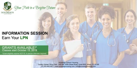 Earn Your LPN | Information Session | Grants Available! tickets