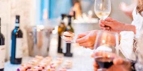 Savory Macarons and Curated Wine Pairings - Happy Hour tickets