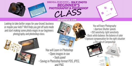 Beginner's Photography & Photoshop Class