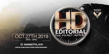 HD EDITORIAL tickets