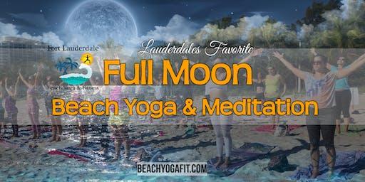 Ft Lauderdale Full Moon Beach Yoga & Meditation : $10 @ door
