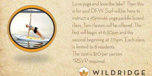 DFW Surf- Floating Yoga Session #2 (7:15PM-8:00PM)
