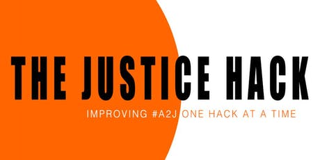 The Justice Hack 2019 Hackathon tickets