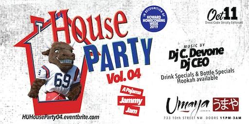 HU House Party Vol. 04: A Pajama Jammy Jam