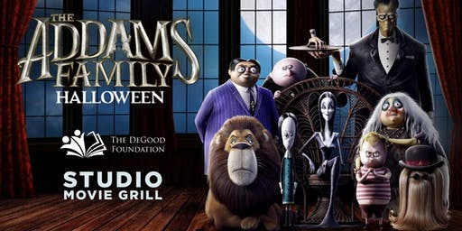 Addams Family Movie Night