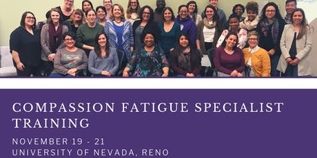 Compassion Fatigue Specialist Certification Training tickets