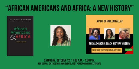"""African Americans and Africa: A New History"" with Dr.  Nemata  Blyden tickets"