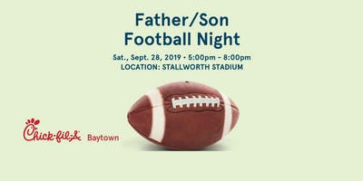 Father Son Football Night
